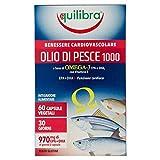 Equilibra Olio di Pesce 1000 - 60 Perle Vegicaps, 84.3 g