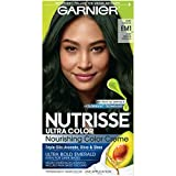 Garnier Hair Color Nutrisse Ultra Color Nourishing Hair Color Creme, Dark Matcha Em1, 1 Count