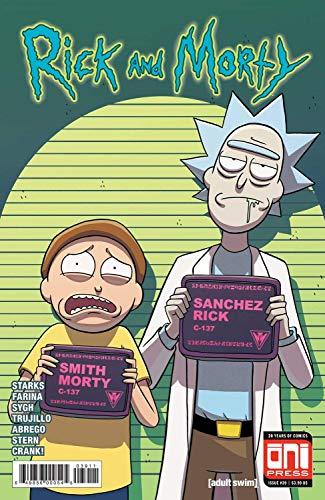 Tainsi Rick and Morty - Póster de 28 x 43 cm