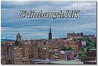 BEI YU MAN.co 英国イングランドエディンバラオールドタウンジグソーパズル大人用キッズ1000ピース木製パズルゲームギフト用家の装飾特別な旅行のお土産