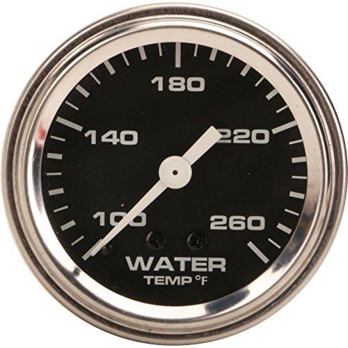 Mechanical Water Temperature Gauge, 2-1/16 Inch, Black