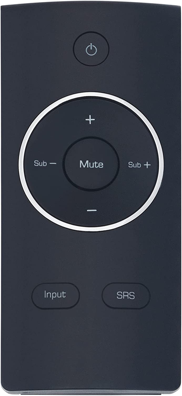 Replaced Remote Surprise price Control 100% quality warranty Compatible with Soudbar VSB211Z VS VIZIO