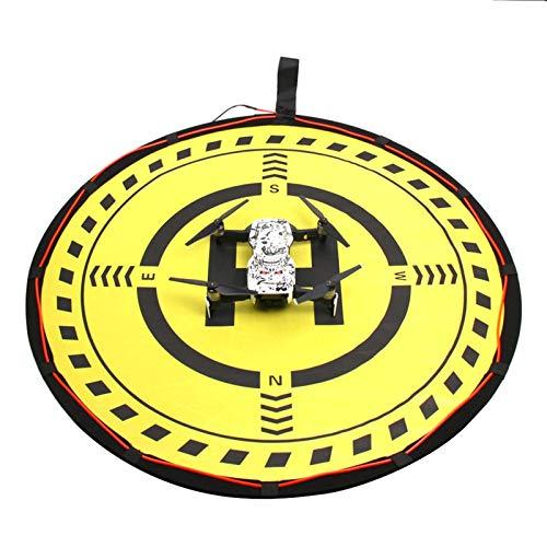 DJFEI Drone Landing Pad Impermeabile Atterraggio Pieghevole Portatile per DJI FPV Combo, Drone Landing Pad Impermeabile 70cm Atterraggio Pieghevole Portatile