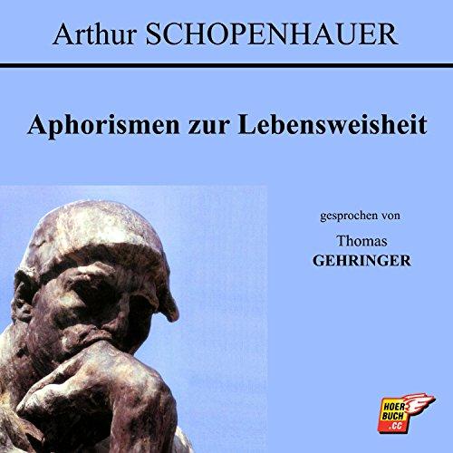 Aphorismen zur Lebensweisheit audiobook cover art