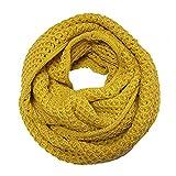 Wrapables Soft Winter Warm Scarf, Saffron Yellow