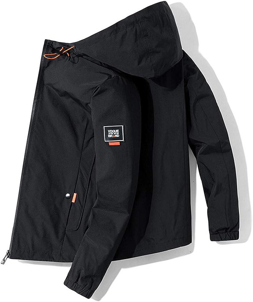 ZIHUAD Utility Jacket Hooded Coat Trendy Brand Fashion Trendy Loose Casual Jacket-A-XXXXL