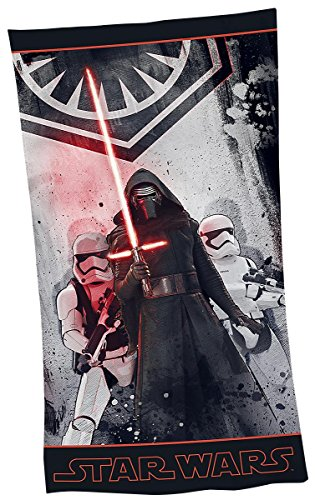 Star Wars Episode 7 - The Force Awakens - Kylo Ren & Stormtroopers - Empire Logo Strandlaken multicolor