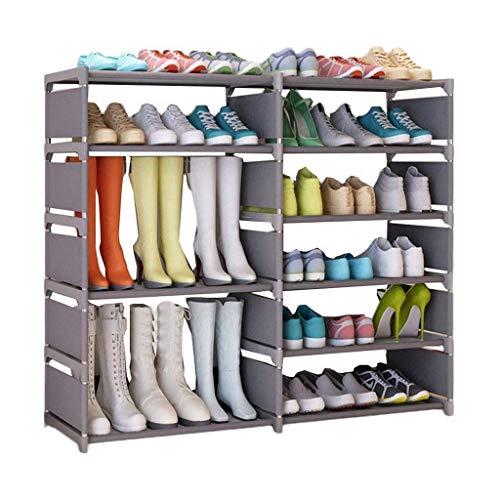 Diaod Simple Zapatero Multi-Capa, Tela Gabinete de Almacenamiento de Calzado gabinete Multifuncional Dormitorio de Zapatos Dormitorio del hogar del Estante