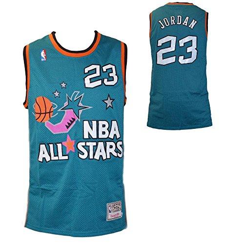 NBA Replica Maglia Canotta Retro Vintage all Star 1996 - Michael Jordan - Taglia M