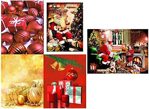 Pochettes cadeaux medium (moyen) weihnachtstasche sachet de pochettes cadeaux de noël 821 12 Stück