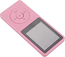 $26 » MILISTEN MP3 Player Portable HiFi Lossless Sound Player Video Audio Player 8GB for Outdoor Travel Walking Running Pink