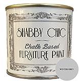 Pintura para jardín de base de tiza, color Winter Grey (gris claro), 125ml