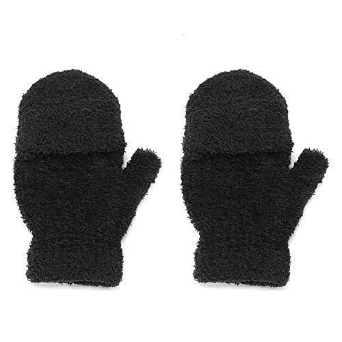 JLCSM Frauen Cabrio-Handschuh-Strickhandschuh-Hälfte-Finger-Finger mit Deckel Dies ist EIN gutes Geschenk for Ihre Freunde und Familie