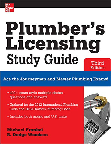 Plumber's Licensing Study Guide, Third Edition