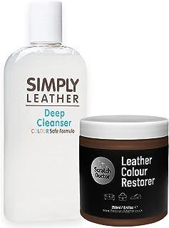 De Scratch Doctor Leather Cleaner & Colour Restorer Restoration Kit *Speciale Aanbieding* Voor Sofa etc Medium Bruin
