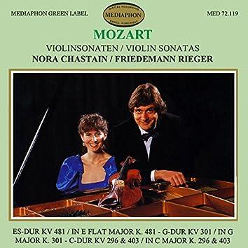 Mozart: Violin Sonatas Nos. 33, 30, 18 & 17