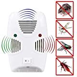 Wosta Ultrasonic Pest Repeller 1 Pack,Upgraded Electronic Pest Repellent Plug in Indoor Pest