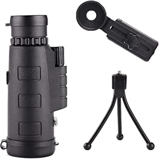 FELICIPP 10X22 telescopio monocular Compacto de Bolsillo Mono Spotting Alcance con para la observación de Aves