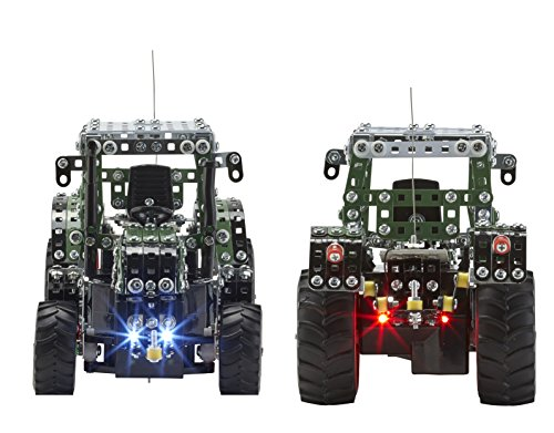 RC Auto kaufen Traktor Bild 2: RC Metallbaukasten, RC FENDT 313 VARIO, RC Traktor, ferngesteuert, 27 MHZ, Maßstab 1:24, 574 Teile, Tronico, Baukasten inklusive Werkzeug*