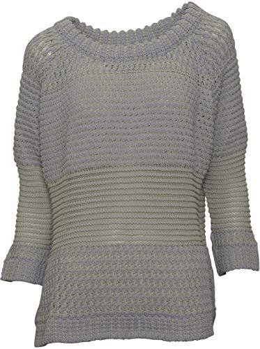 GWYNEDDS Damen Pullover Paula in Hellgrau-Gelb M