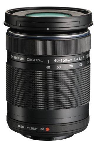 OLYMPUS 望遠ズームレンズ M.ZUIKO DIGITAL ED 40-150mm F4.0-5.6 R ブラック
