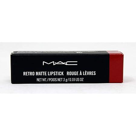 MAC Retro Matte Lipstick Ruby Woo, 1 Count, Multicolor, 0.10 Ounce