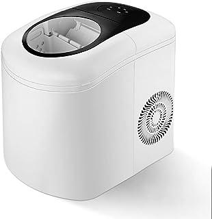 ZJZ Máquina para fabricar Hielo, Máquina para Hacer Hielo eléctrica de encimera, Funcionamiento Sencillo y silencioso, Tan...