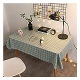 HotYou Strapazierfähige Vinyl Tischdecke PVC für Rechteckige Tische Abwischbare für Esstisch Ölbeständig Wasserdicht Fleckenbeständig Schimmelbeständig,Farbe 11,80 * 120 cm