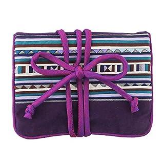 NOVICA Hill Tribe Cotton Jewelry Roll, Purple, Lisu Jewels' (B07KR518WF) | Amazon price tracker / tracking, Amazon price history charts, Amazon price watches, Amazon price drop alerts