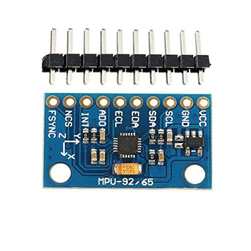 ILS – 5 Piezas MPU-9250 GY-9250 9 módulo codificador