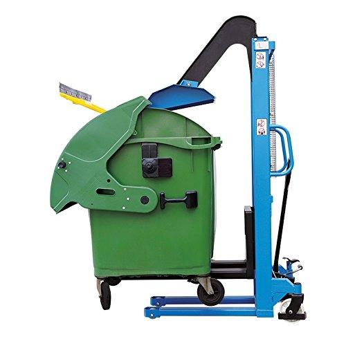 Hochhubwagen Handhubwagen Stapler mit Müllpresse RP-CH-1516+RP-CH-00011