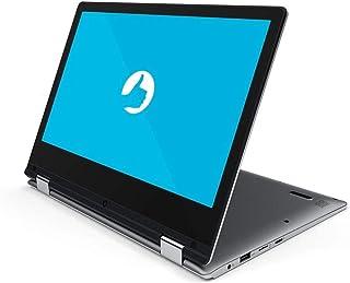 """Notebook 2 em 1 Positivo Motion DUO Intel® Atom® Quad-Core™ Windows 10 Home Tela 11.6"""" touch - Cinza"""