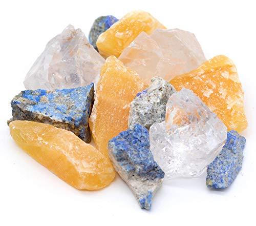 Großes Edelsteine Set (gemischt) 300g | Heilsteine | Edelstein Trinkwasser | Wassersteine | Grundmischung | Kristalle | Mineralsteine | Energetisieren (Regeneration und Erholung)