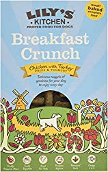 Nutritionally complete dry dog food Made with 26% chicken and 4% turkey Contains yoghurt, berries and sunflower seeds Gently baked until golden and crunchy No derivatives, preservatives or fillers - all natural healthy goodness