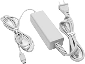 Gamepad Charger for Wii U, AC Power Adapter Supply Charger for Nintendo Wii U Gamepad Remote Controller
