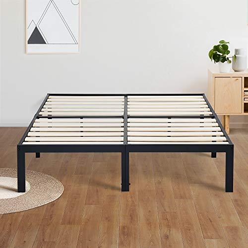 Olee Sleep Bed Frame, Queen, Black