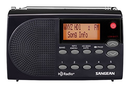 Sangean HDR-14 HD AM/FM Pocket Radio (Renewed)