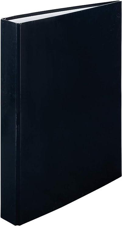 2/Anelli nero carta certificata FSC Idena raccoglitore ad anelli A4