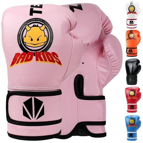 TEKXYZ Kinder Boxhandschuhe Bad Kids...