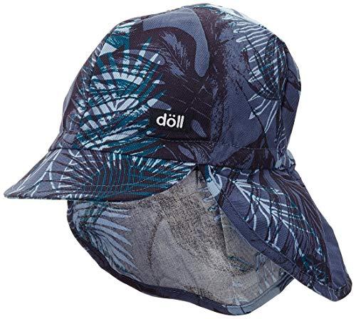 Döll Unisex Baby Baseballmütze mit Nackenschutz Kappe, Blau (Ensign Blue 3890), (Herstellergröße: 51)