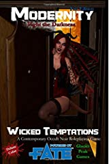 Wicked Temptations for Modernity (Fate Edition) Deluxe Color: Fight the Darkness Paperback