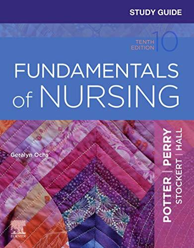 51YymRyMxML - Study Guide for Fundamentals of Nursing - E-Book