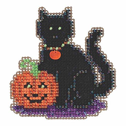 Pumpkin Trio Autumn Harvest 2020 Mill Hill Counted Glass Bead Kit w//Treasure