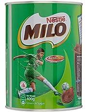 Nestle Milo - melkpoeder als aanvulling op uw ontbijt en tussendoortjes (400g)