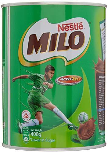 Milo Bebida Instantánea de Chocolate (África) Paquete de 1 x 400 Gr 400 g