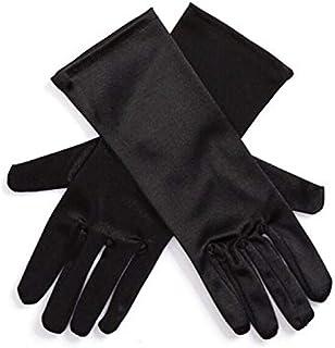 Utopiat Audrey Style Short Satin Opera Gloves for Women Inspired By BAT's