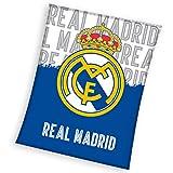 Real Madrid CF - Manta Polar Real Madrid 130 x 160 cm.