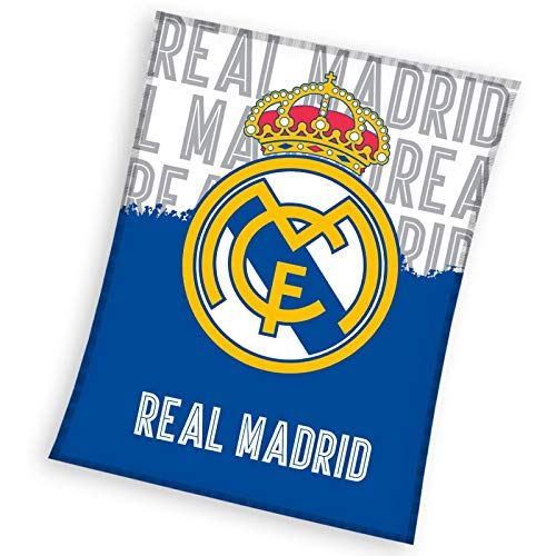Real Madrid CF - Manta Polar Real Madrid 130 x 160