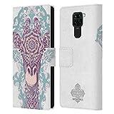 Head Case Designs sous Licence Officielle Bioworkz Girafe Tête Animale Colorée 1 Coque en Cuir à...