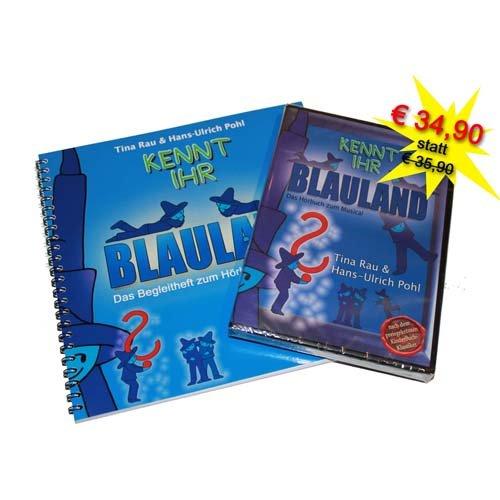 Kennt Ihr Blauland - Hörbuch und Begleitheft zum Hörbuch - Bundle1